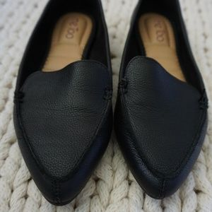 me too Shoes - Me Too Audra black leather loafers EUC